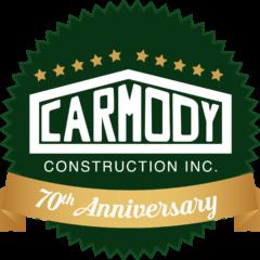 http://www.carmodyconstructionil.com/wp-content/uploads/2018/05/Carmody-Logo-Anniversary-240x240.png